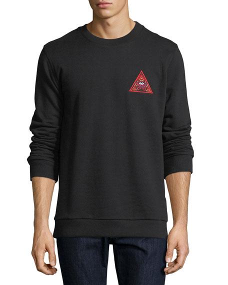 Givenchy Real Lies Logo Sweatshirt