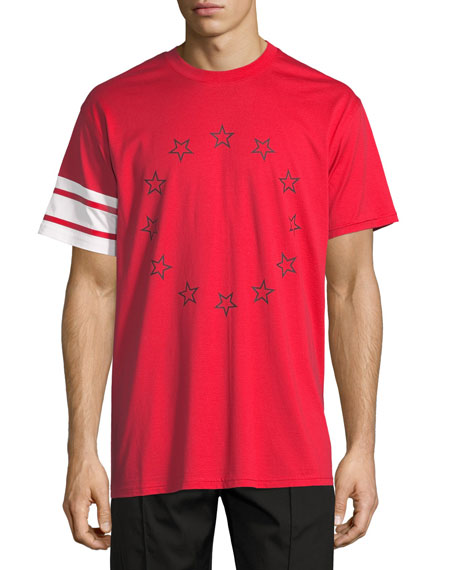 Givenchy Columbian-Fit Star T-Shirt