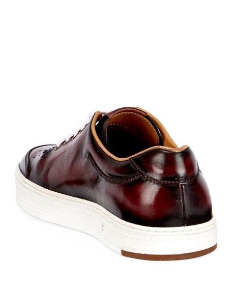 Men's Calf Leather Tennis Shoe