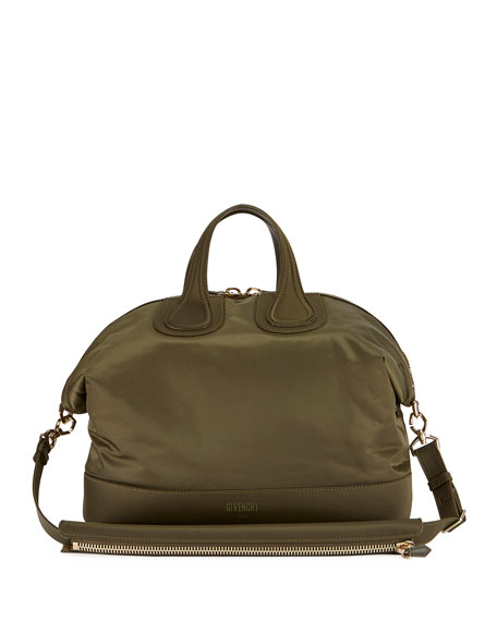 Givenchy Men's Nylon Nightingale Bag, Khaki