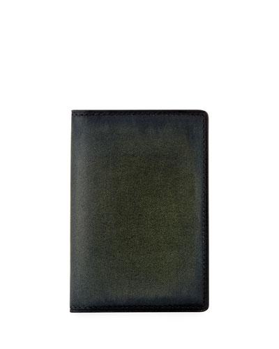 Jagua Leather Card Case, Verbena