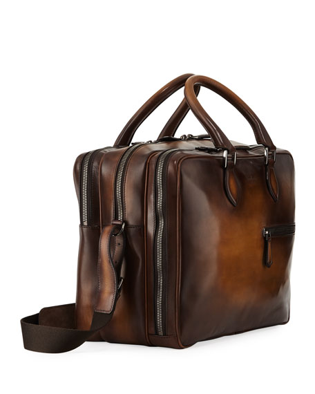 Formula Venezia Calf Leather Briefcase