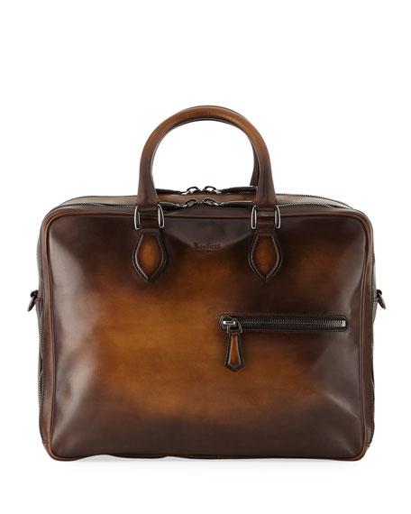 Berluti Formula Venezia Calf Leather Briefcase