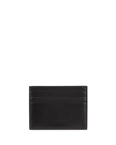 Leather Card Case, Black