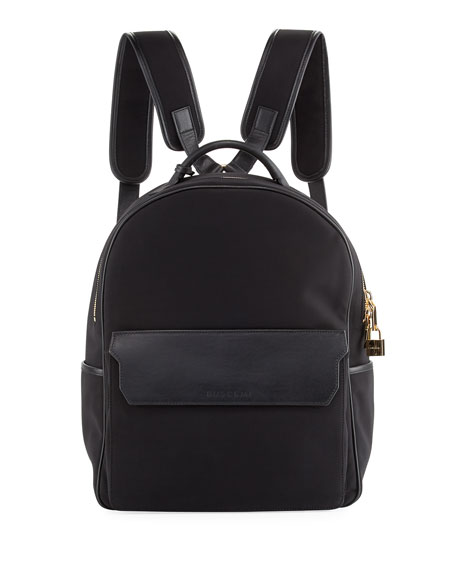 Buscemi PHD Neoprene Backpack, Black