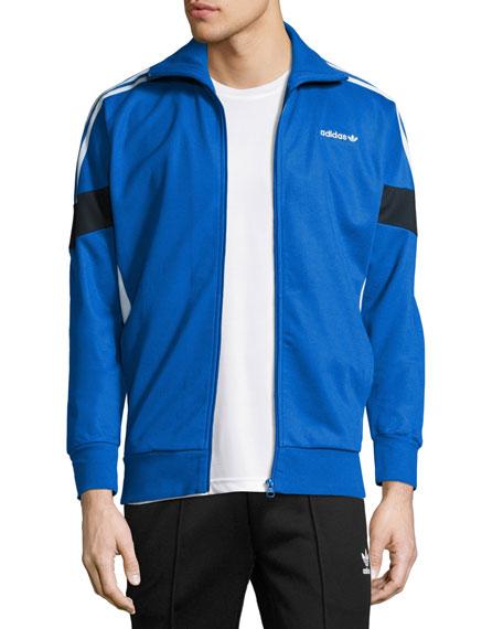 Challenger Track Jacket, Blue/White