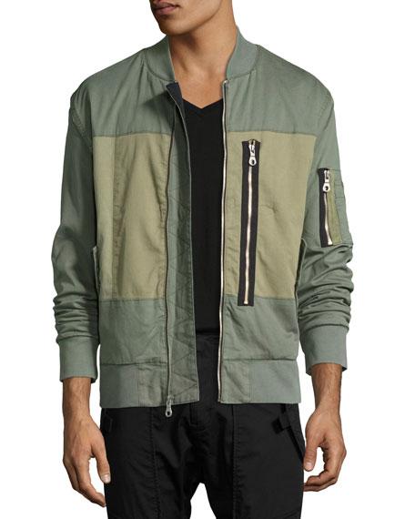 Hudson Knox Utility Bomber Jacket, Green