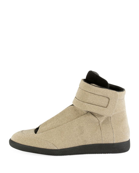 Men's Future Lurex High-Top Sneakers
