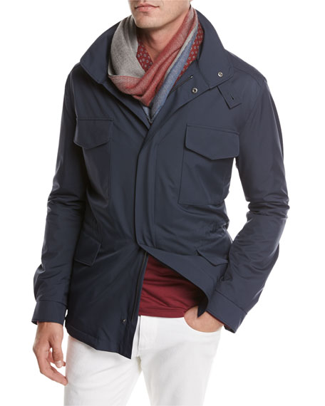 Loro Piana Traveler Windmate?? Storm System?? Jacket, Dark