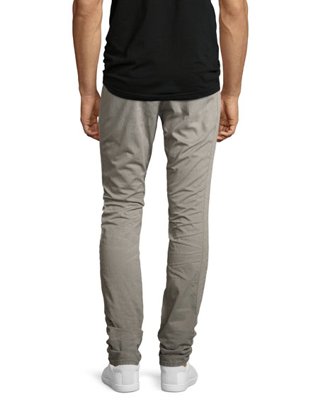 Allergies Slim Moto Pants, Gray