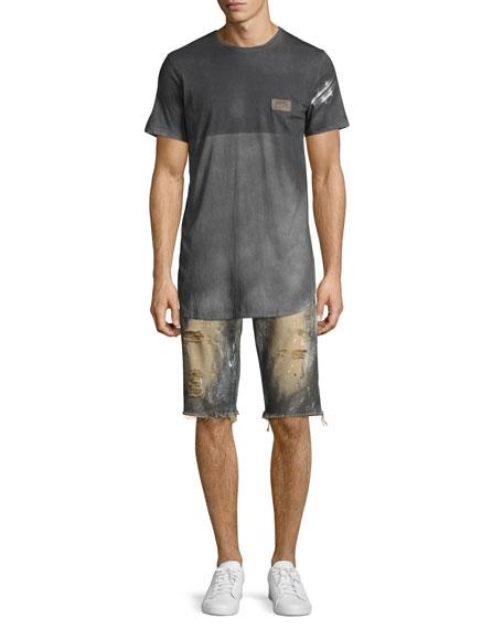 Beach Day Cutoff Denim Shorts, Indigo