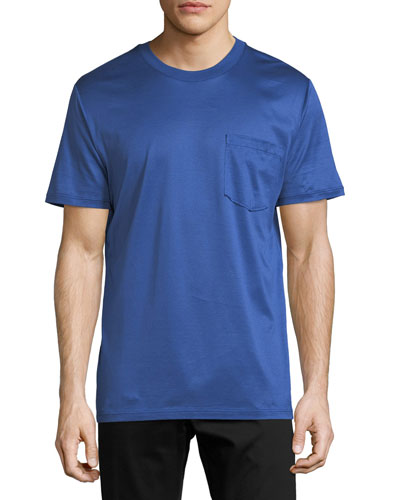 Mercerized Cotton T-Shirt