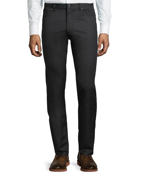 Ermenegildo Zegna Cottons Wool-Cotton Five-Pocket Pants
