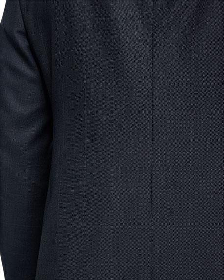 Birdseye Windowpane Wool Two-Piece Suit