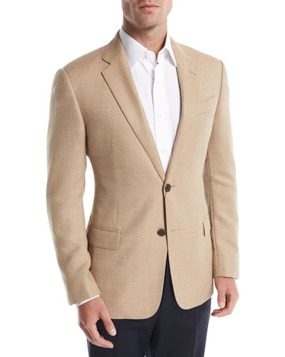 Hopsack Wool Sport Coat