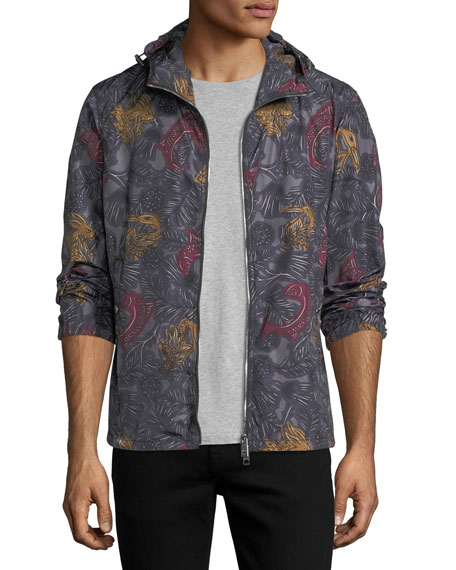 Burberry Beasts Hooded Ripstop Jacket