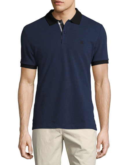 Burberry tonal check shirt medium blue for Navy blue color shirt