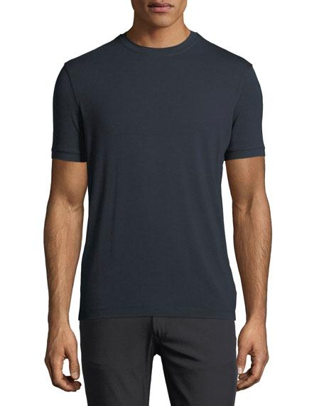 Armani Collezioni Solid Jersey T-Shirt