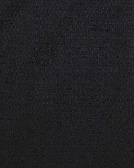 Textured Dress Shirt, Black