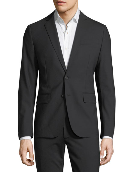 Paris Virgin Wool Two-Piece Suit