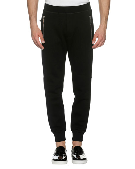 Dsquared2 Tech Leisure Jogger Pants, Black