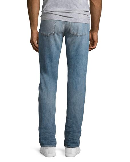 Tyler Taper-Fit Comfort Stretch Jeans, Light Blue