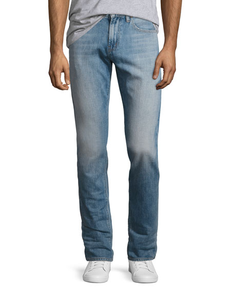 Tyler Taper-Fit Comfort Stretch Jeans, Light Blue