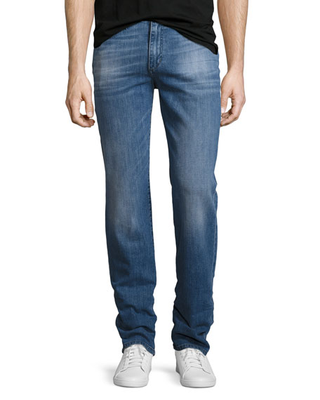 Classic Straight-Leg Jeans, Christopher