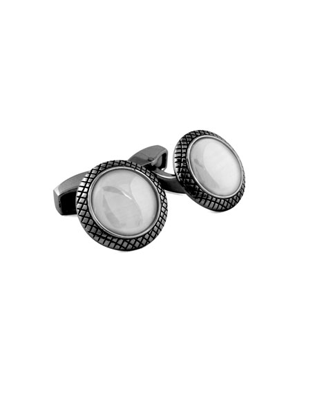 Tateossian Bull's Eye Cuff Links
