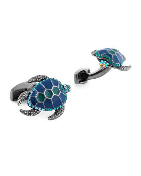 Tateossian Mechanical Turtle Cuff Links