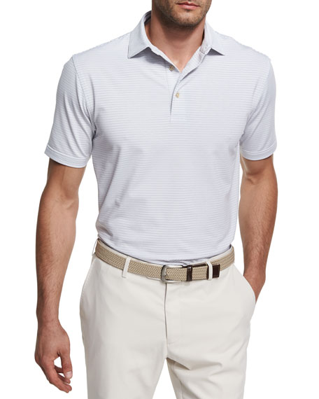 Peter Millar Crown Sport Chesapeake Striped Polo Shirt,