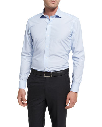 Collection Mediterranean Voyage Sport Shirt, Light Blue