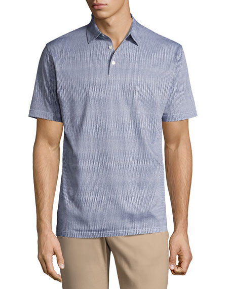Peter Millar Collection Storm at Sea Cotton Polo