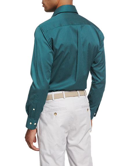 Crown Golf T-Shirt Sport Shirt, Forest