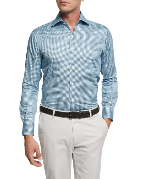 Peter Millar Pandora's Box Cotton Sport Shirt, Light
