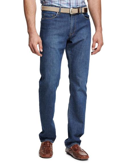 Crown Classic Straight-Leg Jean, Indigo