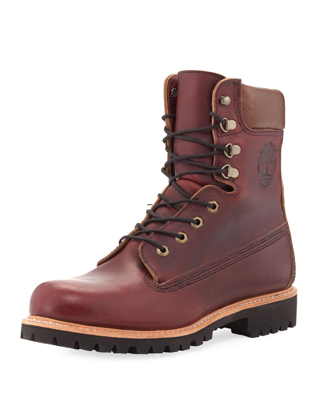 Timberland 8 Quot Premium Waterproof Hiking Boot Wine