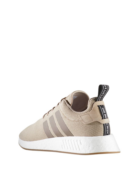NMD R2 Knit Molded Sneaker, Beige