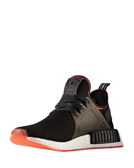 Adidas Men's NMD_XR1 Primeknit® Sneaker, Black