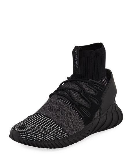 men's adidas originals tubular doom primeknit gid mid shoes