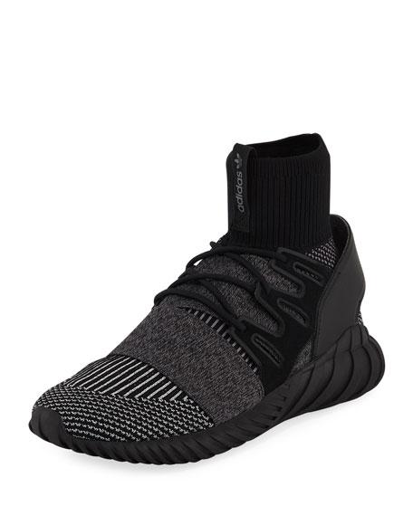 Adidas Men's Tubular Doom PrimeKnit?? GID Sneaker, Black