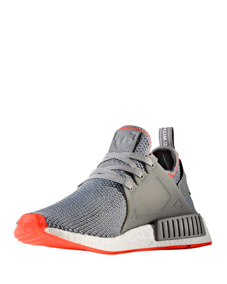 Adidas Men's NMD_XR1 Primeknit® Sneaker, Gray