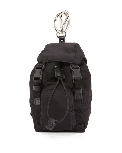 Tessuto Backpack-Shaped Travel Key Chain