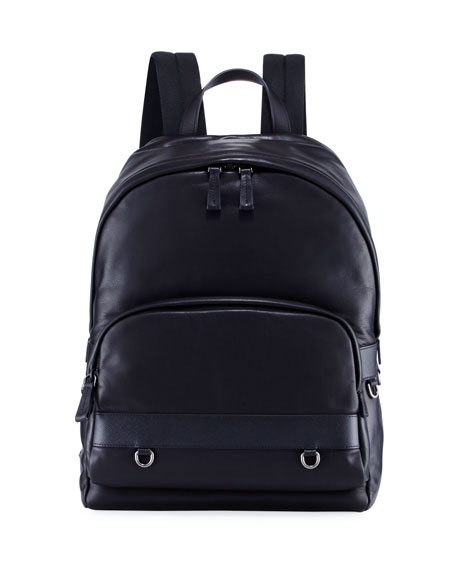 Prada Classic Calf Leather Backpack