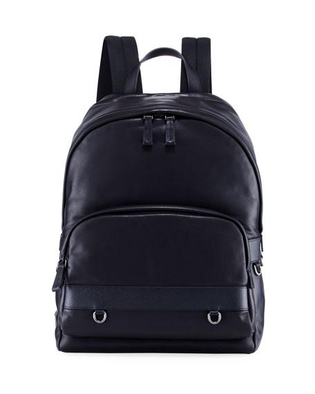 Prada Classic Calf Leather Backpack