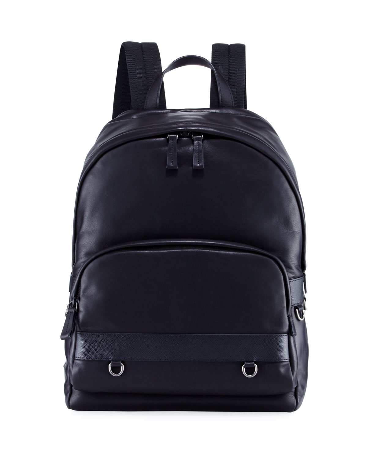 0a6447971815 Prada Classic Calf Leather Backpack | Neiman Marcus