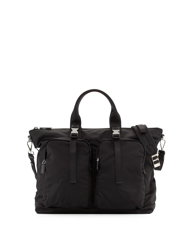 9116b99d080c Prada Men's Tessuto Montagna Duffel Bag | Neiman Marcus
