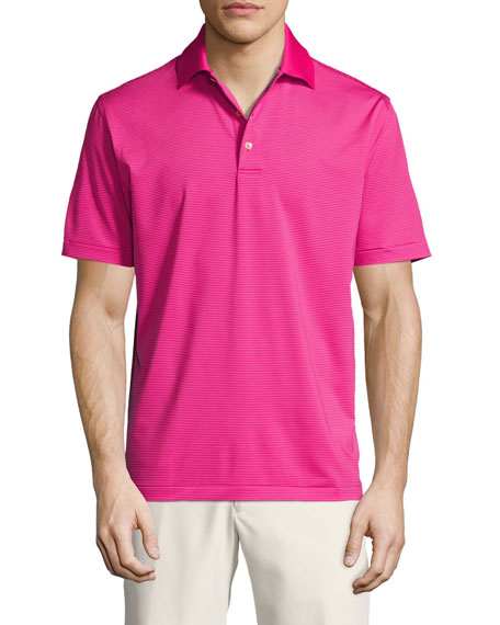 Peter Millar Crown Sport Halford Striped Performance Polo