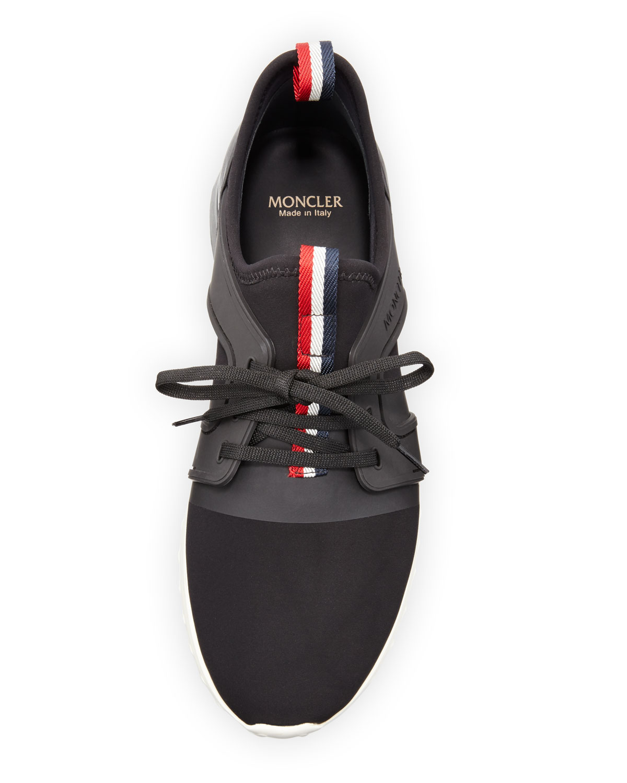 moncler emilien trainers black