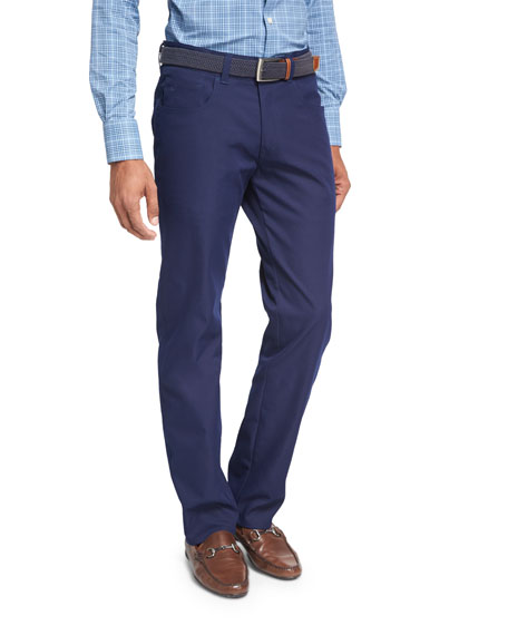 Peter Millar Crown Sport EB66 Performance 6-Pocket Pants,